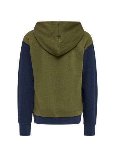 Hummel Hummel 2086056599 Ten Kapüşonlu Yazı Baskılı Erkek Çocuk Sweatshirt Renkli